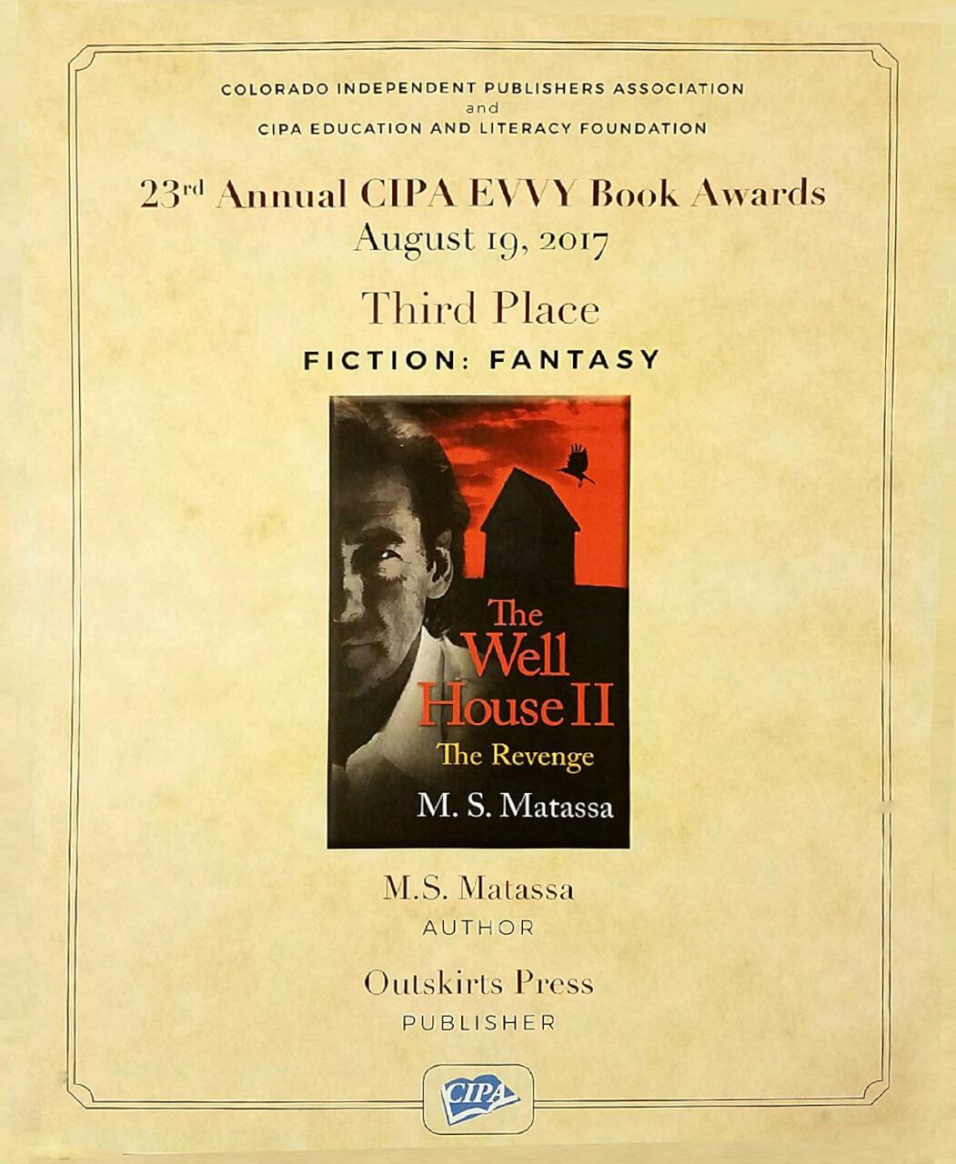 EVVY Award